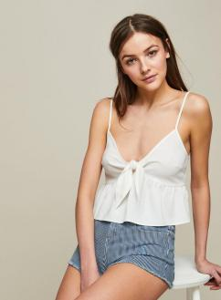 Tie Front Cami, Miss Selfridge