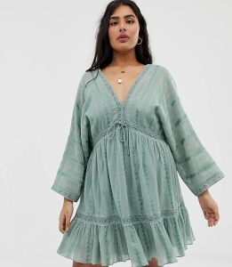 asos curve dress