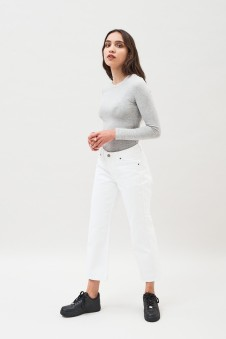 dr denim white jeans